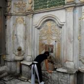 Istanbul water fountain