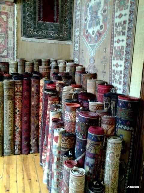 Turkish carpets and kilims