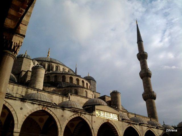 The Blue Mosque exterior
