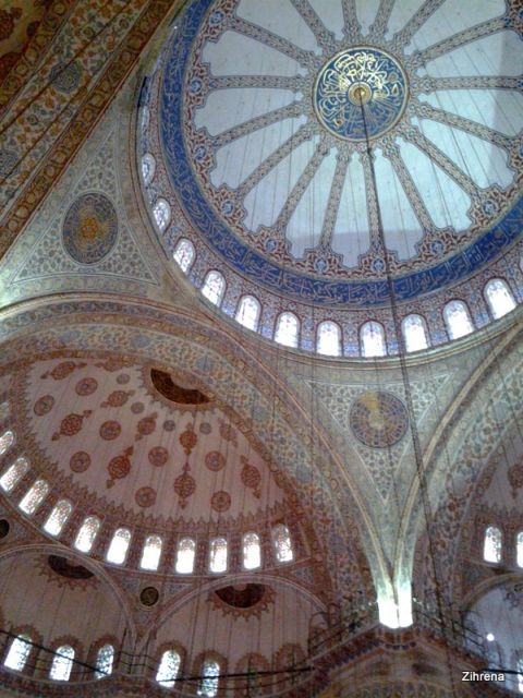 Domes of the Blue Mosque, Istanbul