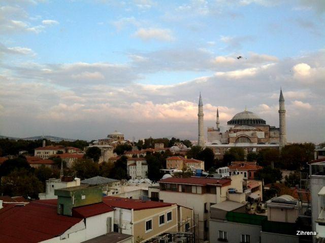 The Aya Sofya (Hagia Sophia)