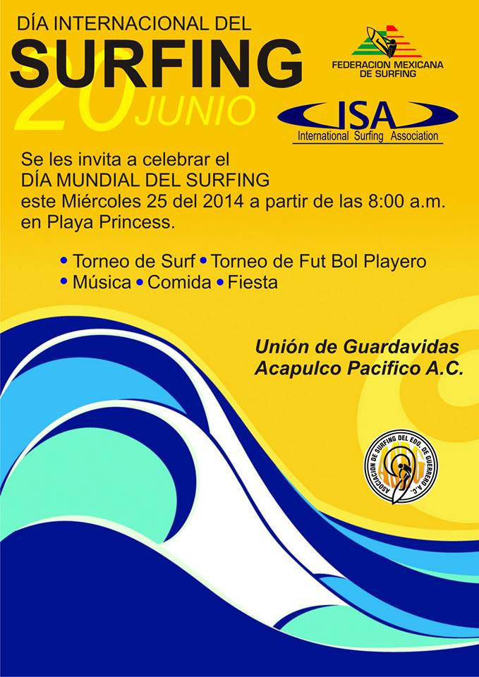 World Surfing Day Contest 2014AcapulcoGuards