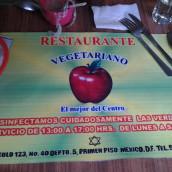 Vegetarian Restaurant in Mexico City