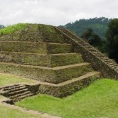 Tingambato pyramid