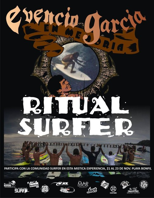 Ritual surfer