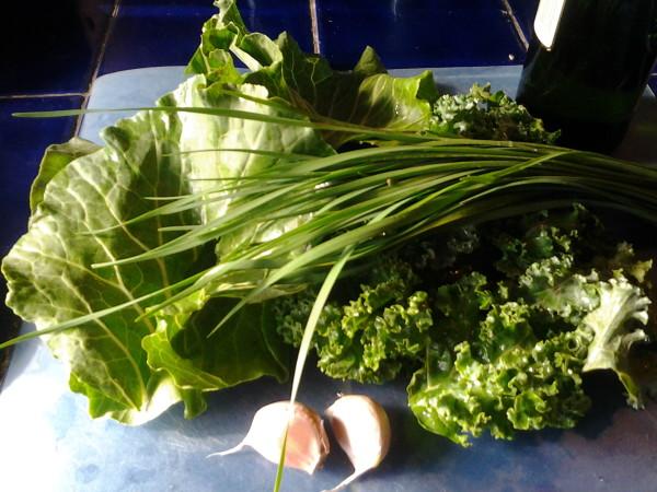 Colacannon kale